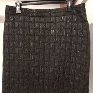 Worthington black pencil skirt size 12